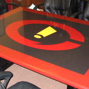 Custom Inlaid Table